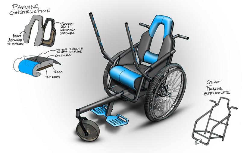 Leveraged Freedom Chair diseÑo para un futuro mejor / icsid – dxi
