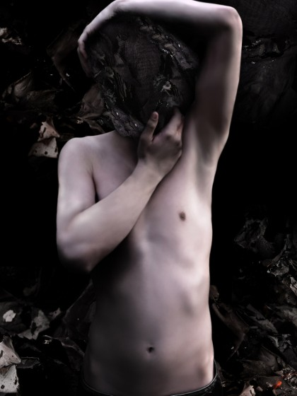 NIGHTMARE #13 Stefano Bonazzi. Digital composition printed on photographic. Fine art paper, framed. Size 70 x 120 cm