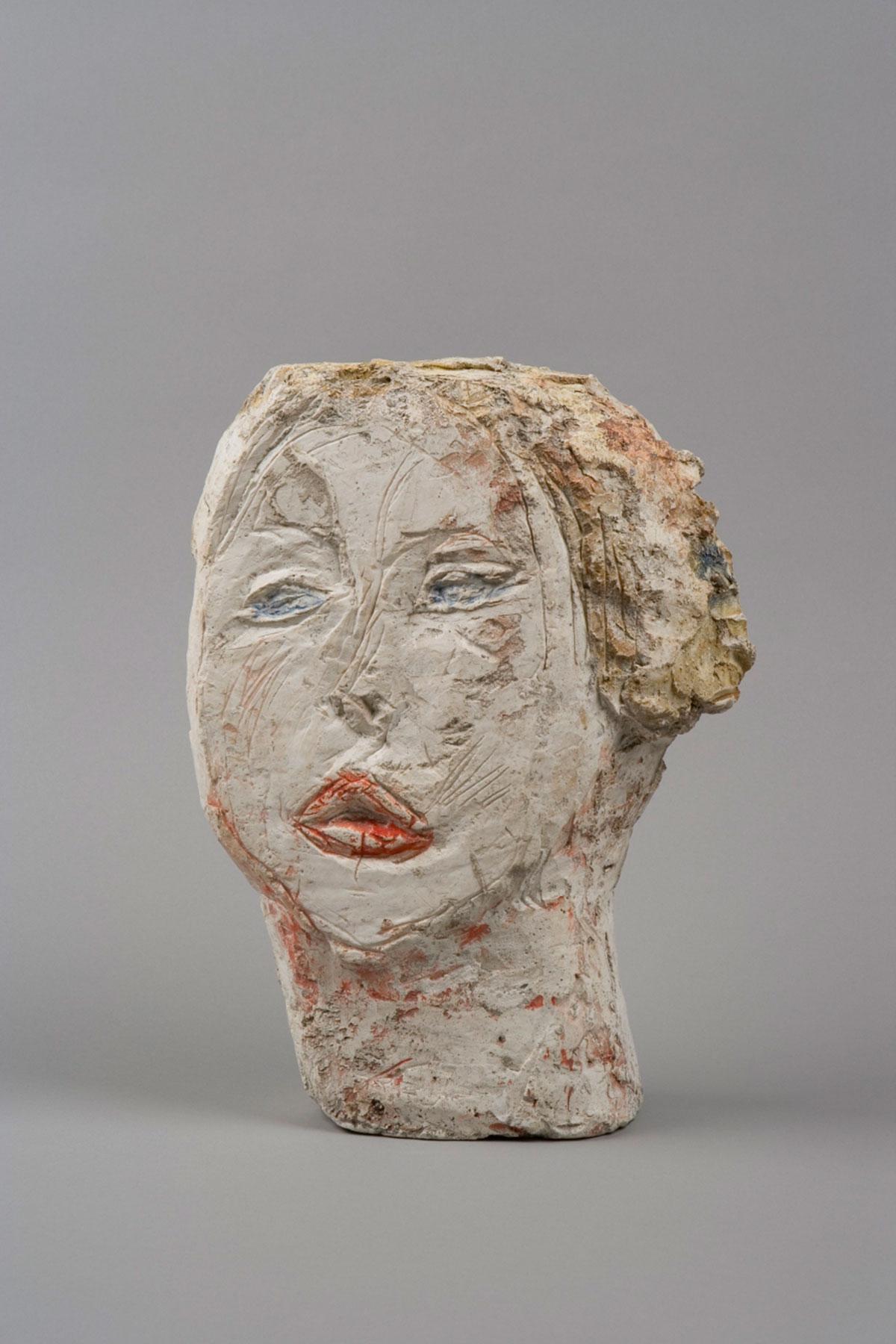 Head of Woman [Flora Mayo] Collection Fondation Alberto et Annette Giacometti, Paris © Alberto Giacometti Estate, ACS/DACS, 2017