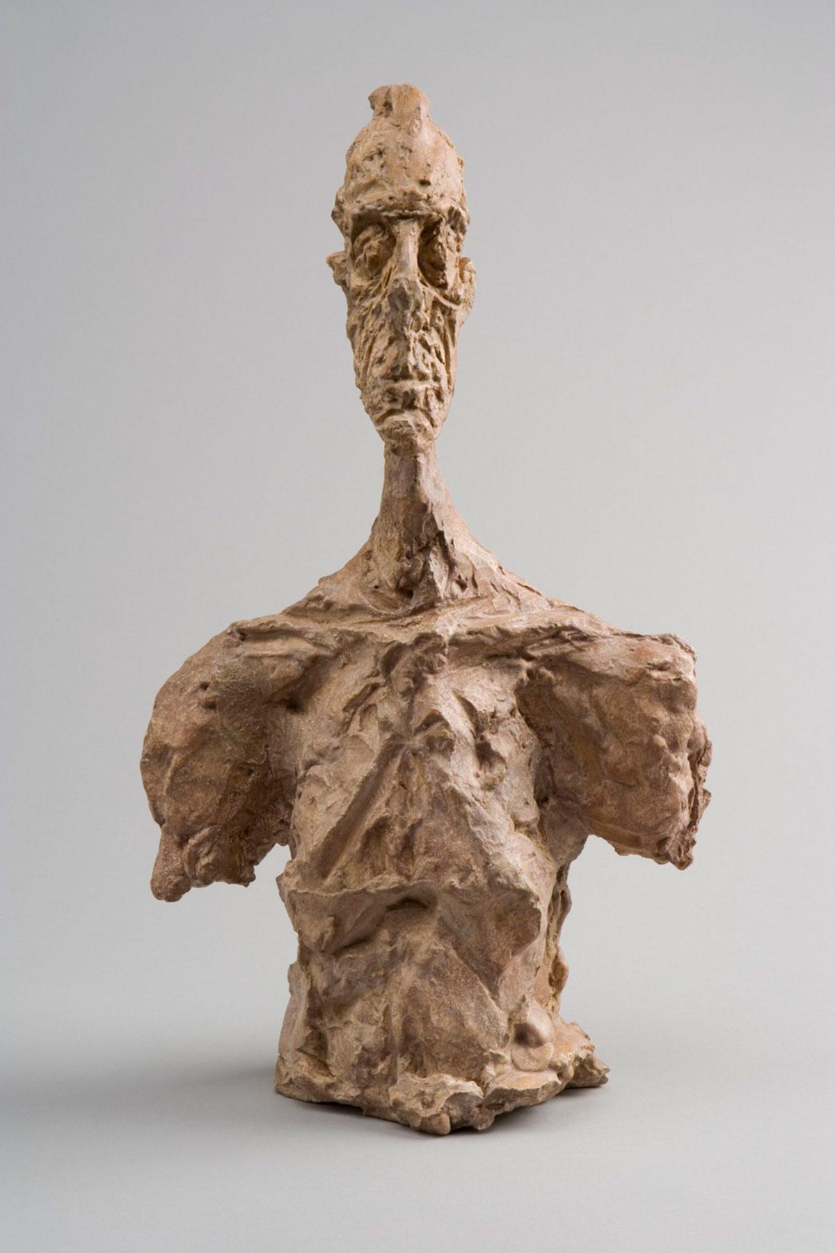 Bust of Diego c.1956 Collection Fondation Alberto et Annette Giacometti, Paris © Alberto Giacometti Estate, ACS/DACS, 2017