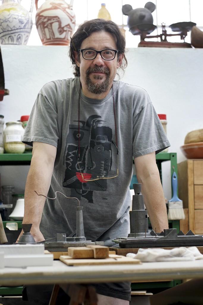 Xavier Monsalvatje. Fotografía: Pablo Ruiz
