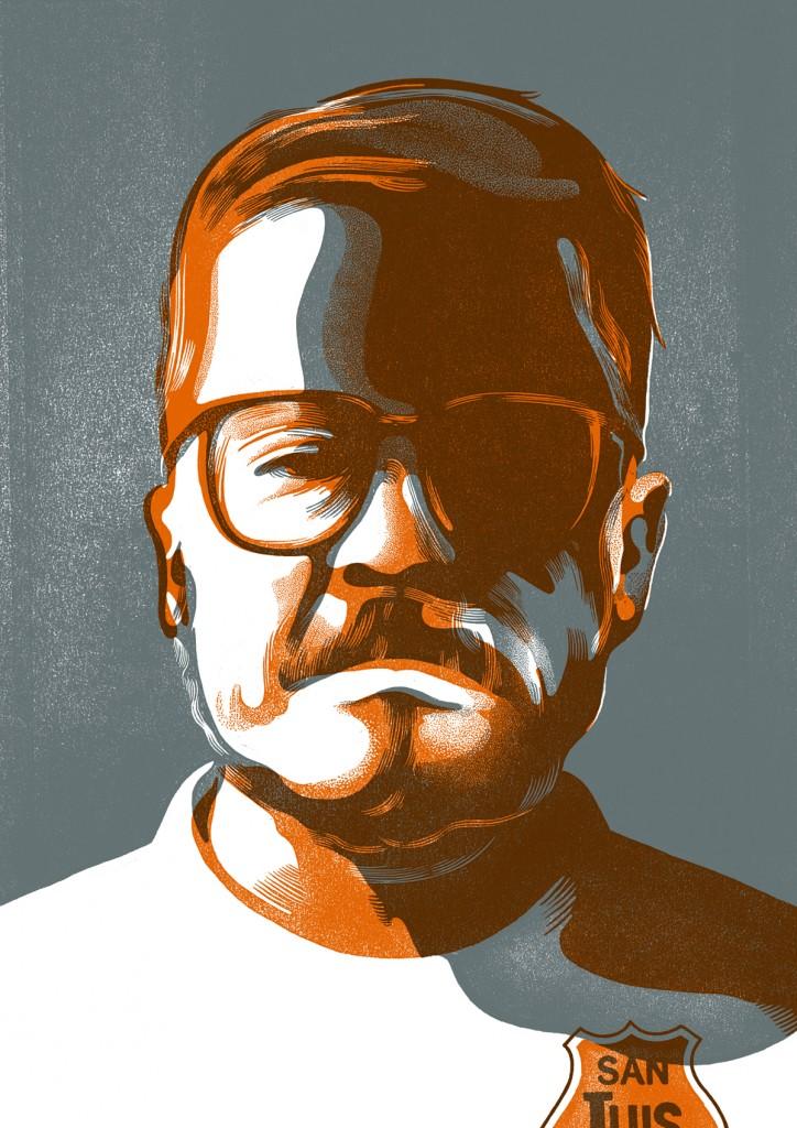Cristóbal Gaete. Ilustrado por Harol Bustos.