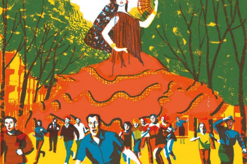Flamenca de 50 pies ©Sonia Pulido