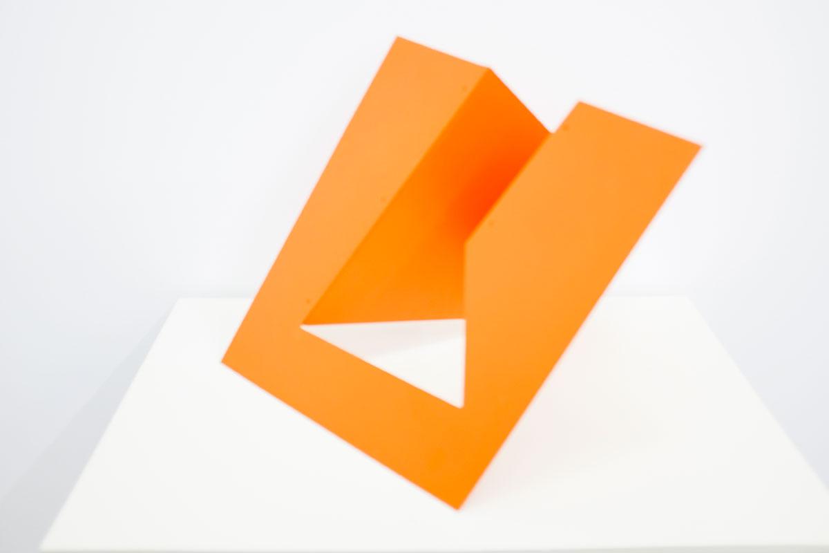 SERIE modular, 1974-1980 Pintura geométrica #1. Cortesía Espaivisor