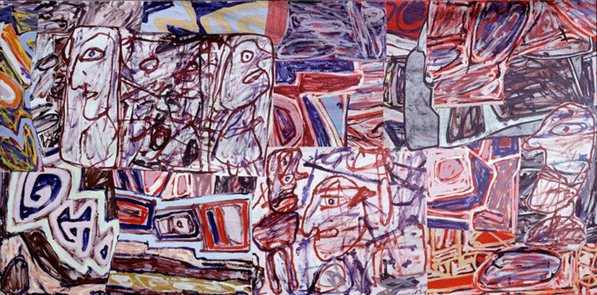 """Jean Dubuffet """"Vestiges and devenirs"""", June 23, 1976."""