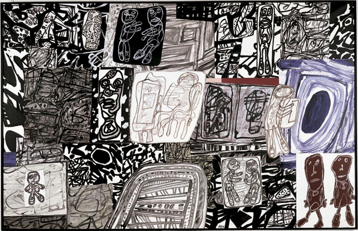 "Jean Dubuffet ""Dramatisation"", January 12, 1978."