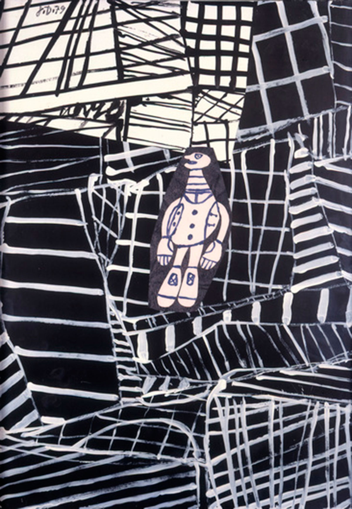 "Jean Dubuffet ""L'itinérant"", August 26, 1979."