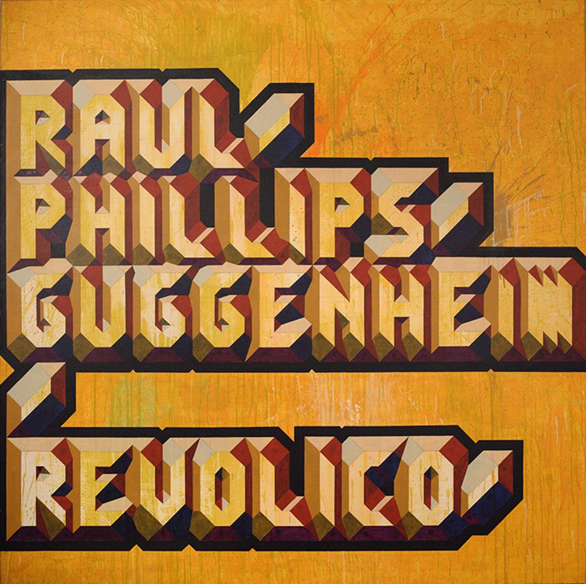 Glexis Novoa Revolico, 2014 Acrylic on canvas. Collection Pérez Art Museum Miami, gift of Jorge M. Pérez