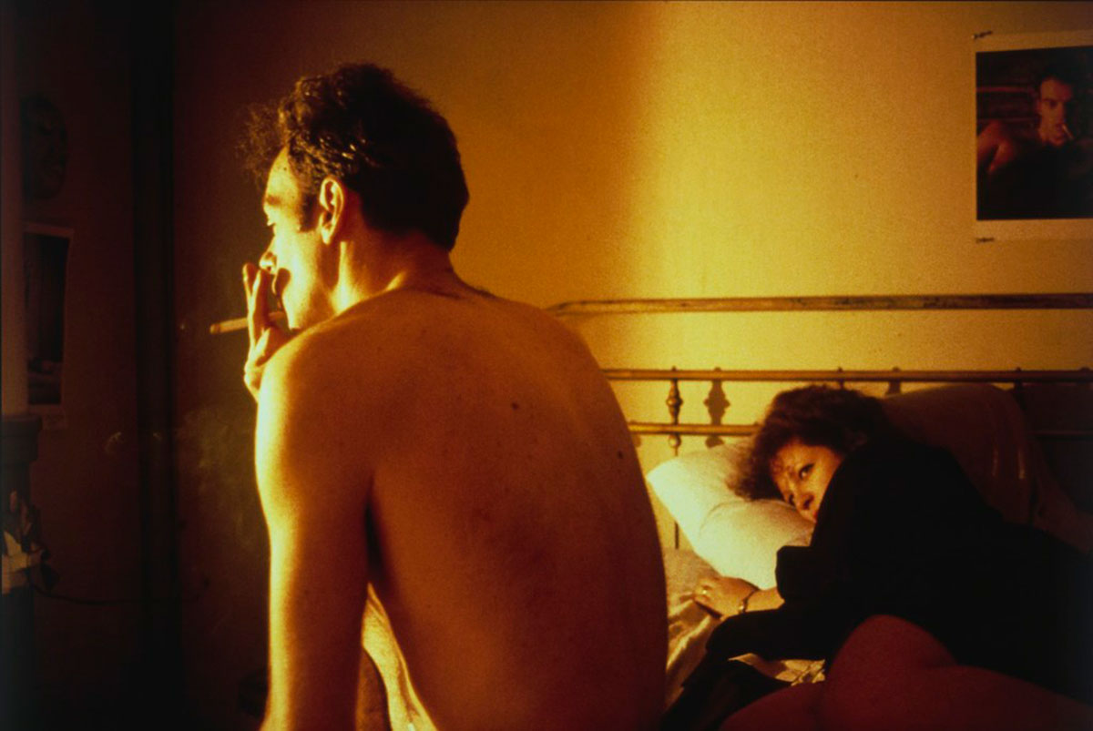 Nan and Brian in Bed, New York City, 1983 © Nan Goldin