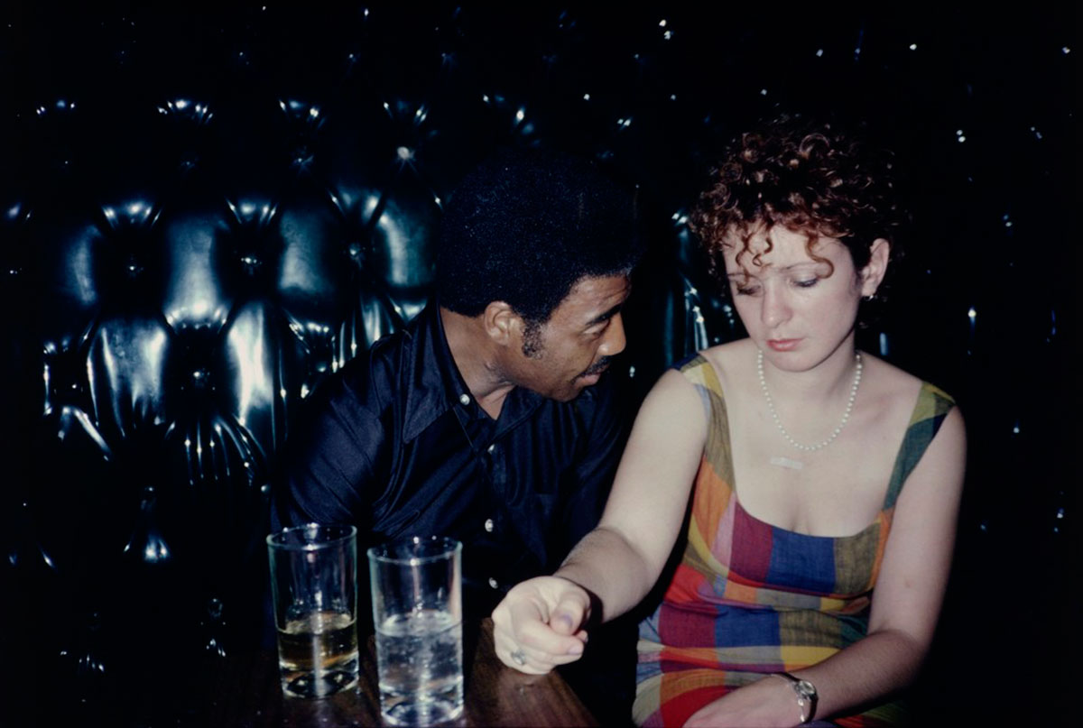 Buzz and Nan at the Afterhours, New York City, 1980 © Nan Goldin