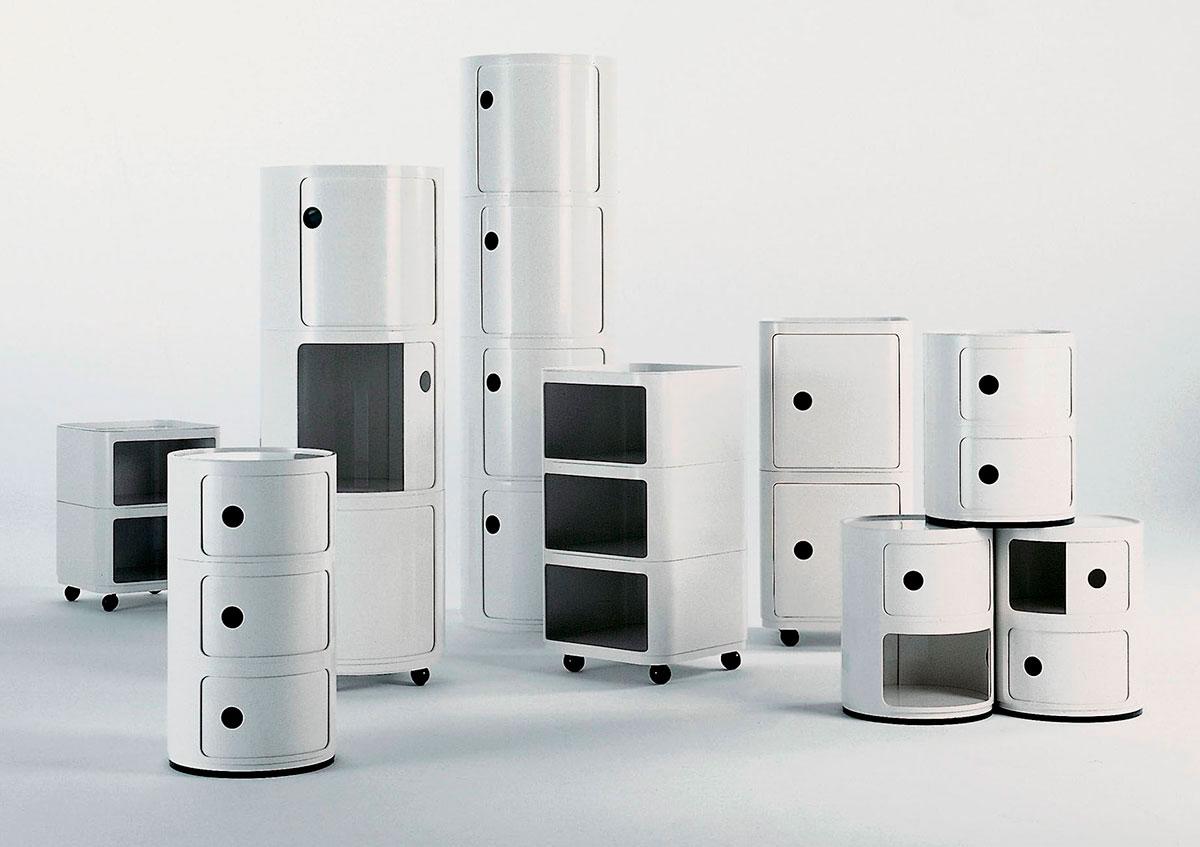 """Componibili"" design by Anna Castelli Ferrieri"