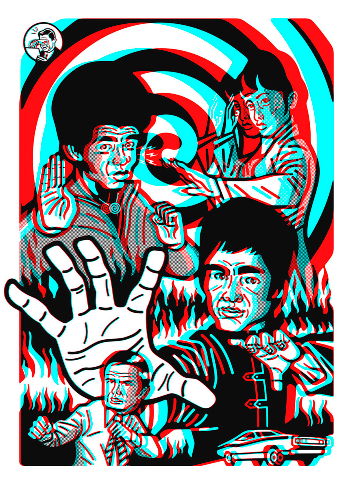 Enter the Dragon 3D. Cortesía del artista