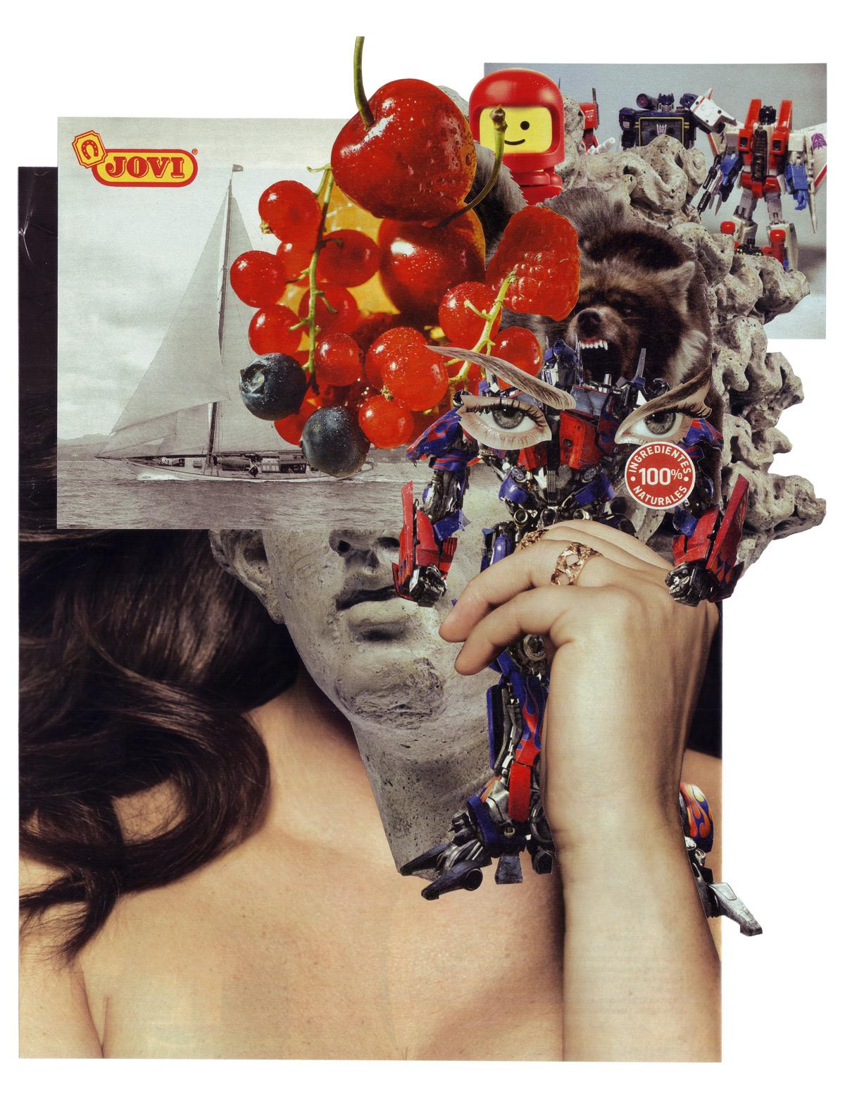 Y si la depresion no estuviese solo en su cabeza. Collage: © Cless